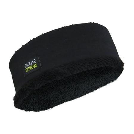 Polar Extreme Insulated Thermal Fur Fleece Heavyweight Winter Headband    Fleece Ear Warmer Headband for Outdoor Sports   Double Layered & Unisex