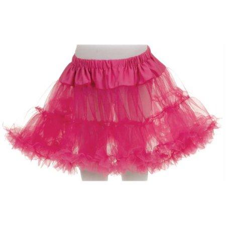 Costumes for all Occasions UR25838 Petticoat Tutu Child Fuchsia