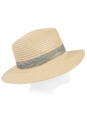 a6f56af8273 Product Image Eliza May Rose Women's Palm Straw Fedora