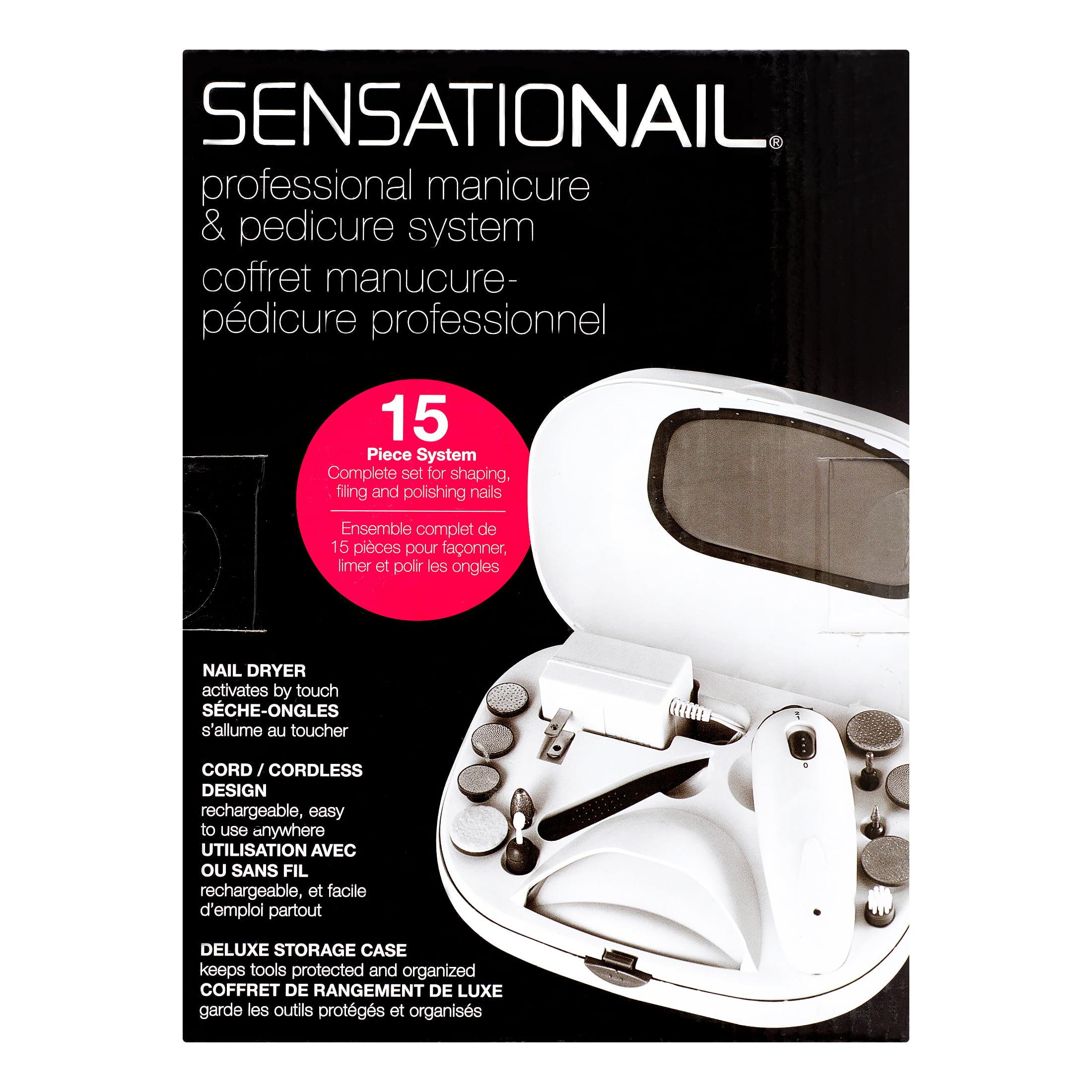 Sensationail Professional Manicure & Pedicure System, 15 count ...