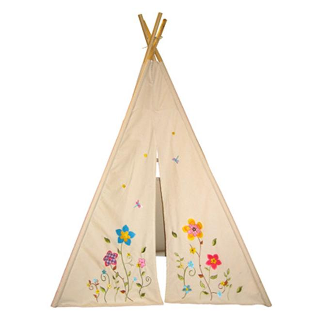 Dexton DX-2016 6 inch Flower Blossom Teepee- Natural