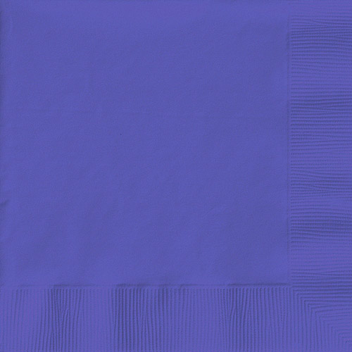 Creative Expressions Luncheon Napkins 50-Pack, Purple