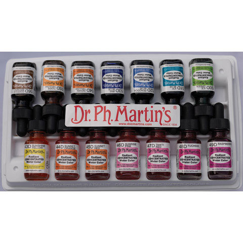 Dr. Ph. Martin's - Radiant Concentrated Watercolor - Turquoise Blue