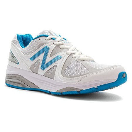 New Balance Women's W1540V2 Optimum Control Running Shoe, White/Blue