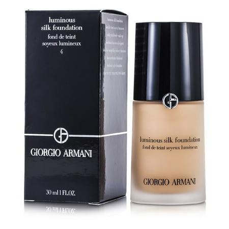 Giorgio Armani Luminous Silk Foundation - # 4 (Light Sand) -