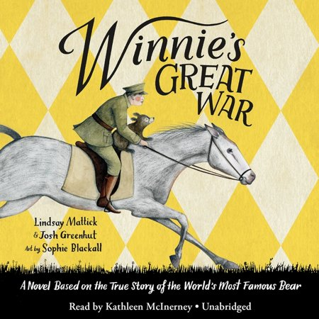Winnie's Great War (Audiobook) From the creative team behind the bestselling, Caldecott Medal-winning Finding Winnie comes an extraordinary wartime adventure seen through the eyes of the world's most beloved bear.Here is a heartwarming imagining of the real journey undertaken by the extraordinary bear who inspired Winnie-the-Pooh. From her early days with her mama in the Canadian forest, to her remarkable travels with the Veterinary Corps across the country and overseas, and all the way to the London Zoo where she met Christopher Robin Milne and inspired the creation of the world's most famous bear, Winnie is on a great war adventure. This beautifully told story is a triumphant blending of deep research and magnificent imagination. Infused with Sophie Blackall's irresistible renderings of an endearing bear, the book is also woven through with entries from Captain Harry Colebourn's real wartime diaries and contains a selection of artifacts from the Colebourn Family Archives. The result is a one-of-a-kind exploration into the realities of war, the meaning of courage, and the indelible power of friendship, all told through the historic adventures of one extraordinary bear.
