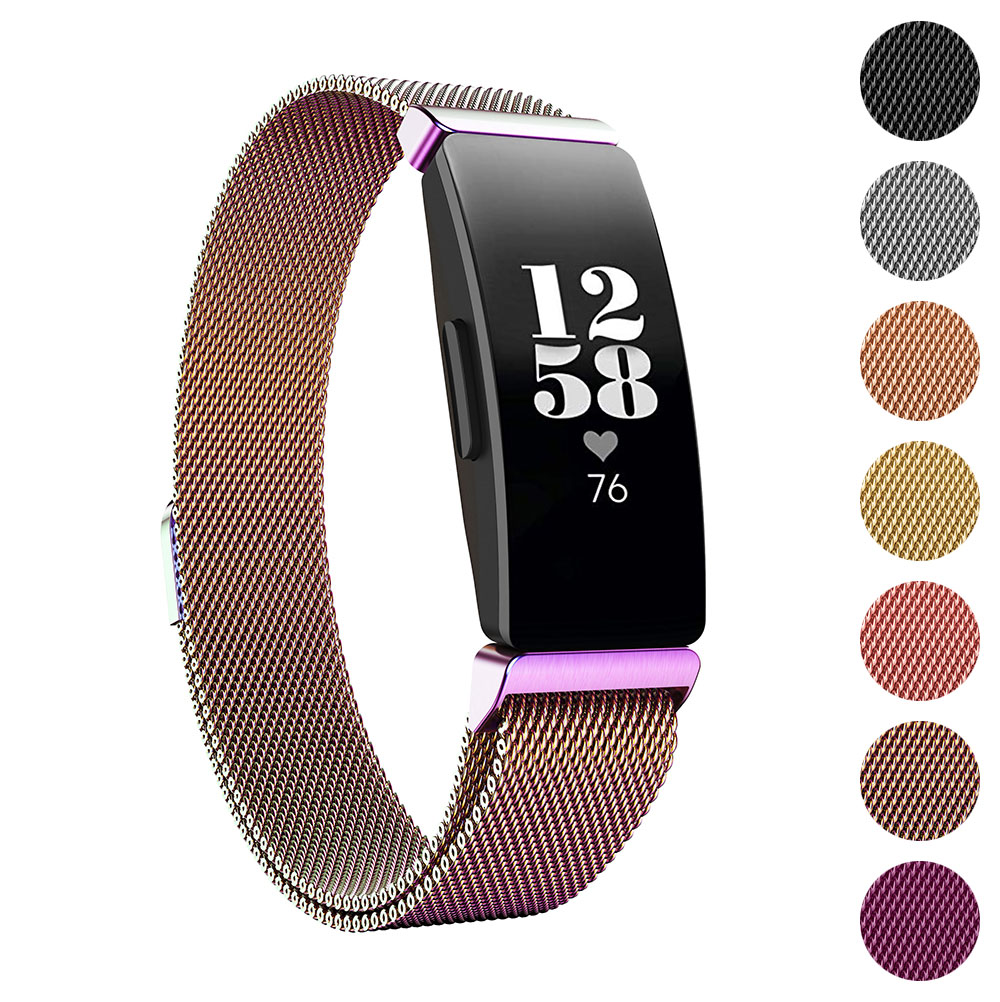 For Fitbit Inspire Inspire HR Magnetic Milanese Stainless Steel Band Strap UK