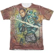 Suicide Squad Slipknot Psychedelic Cartoon (FB Print) Mens Sublimation Shirt