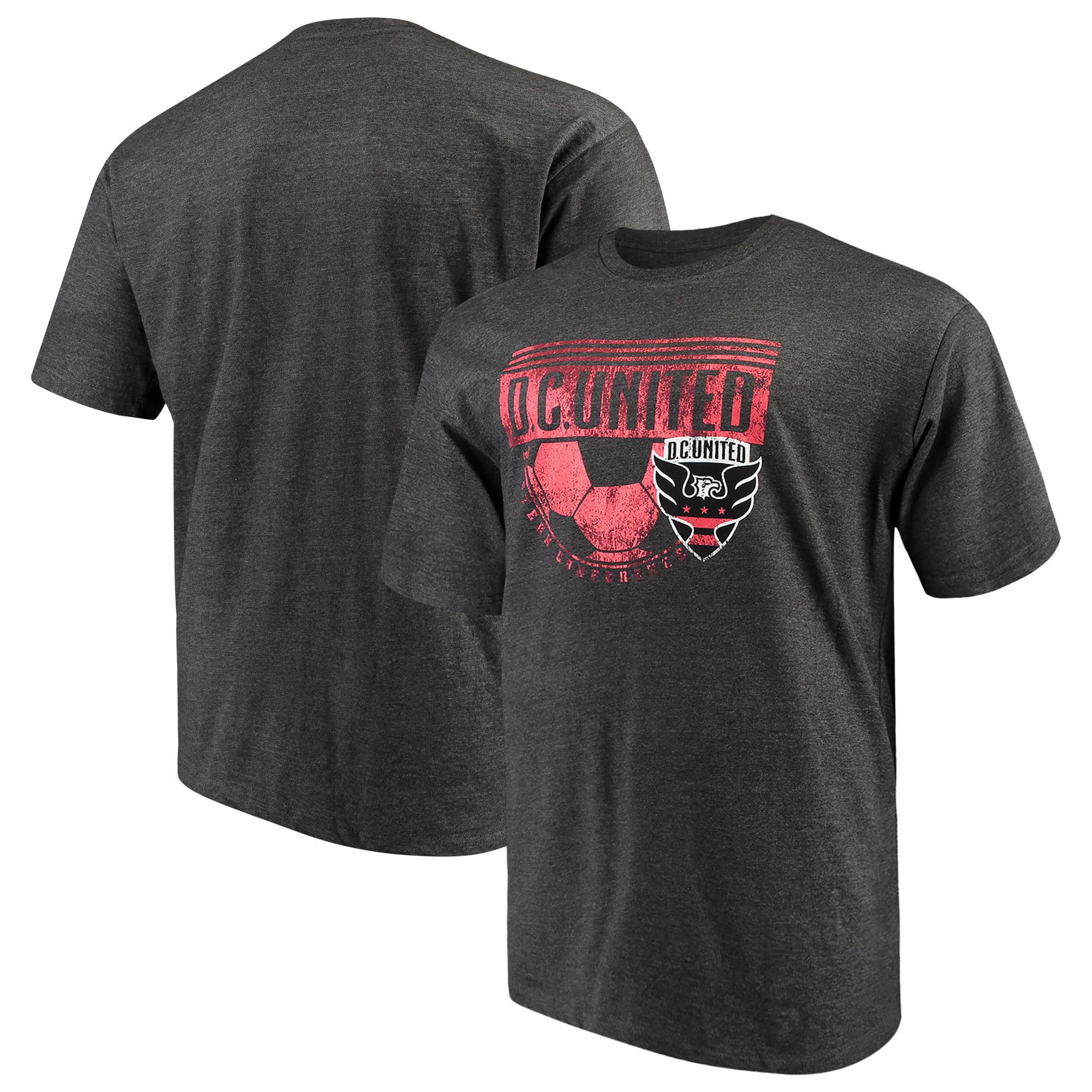 D.C. United Majestic Big & Tall Every Minute T-Shirt - Charcoal