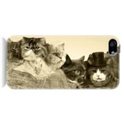 Sharp Shirter Meowmore iPhone 5 and 5S Protective Phone Case