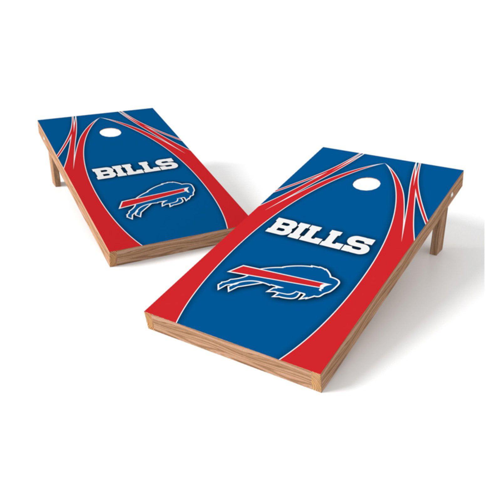 BUFFALO BILLS Cornhole Bean Bags 4 ACA Regulation Corn Toss Tailgate Game Bags