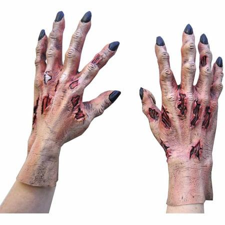 Horrific Death Hands Adult Halloween Accessory](Halloween 1978 Deaths)
