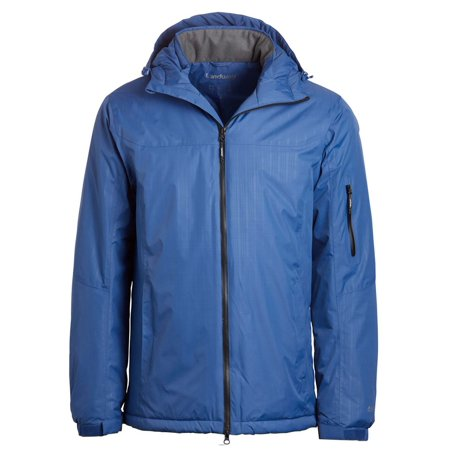 Landway Men's Thermal Shell Parka High waterproof zippers, Style (Thermal Shell Jacket)