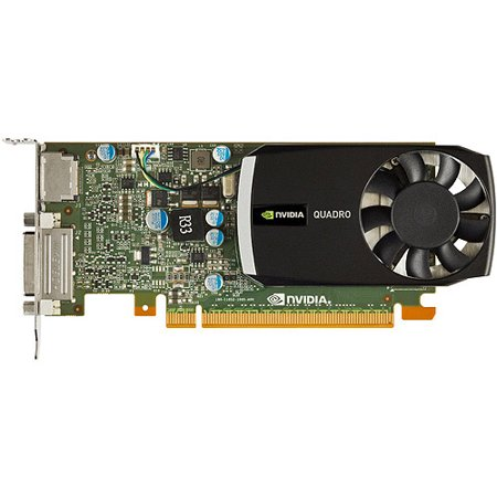 NVIDIA Quadro 400 by PNY 512MB DDR3 PCI Express Gen 2 x16 DVI-I DL and DisplayPort OpenGL, DirectX, and CUDA Profesional Graphics Board, (Best Graphics Card 2019 Under 400)