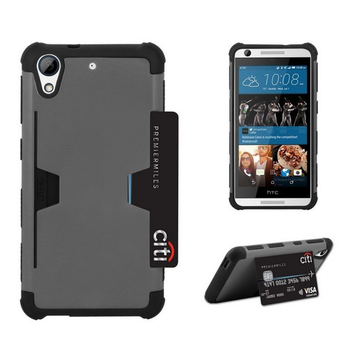 C&E Shell Case Rugged For HTC Desire 626 Gray/Black