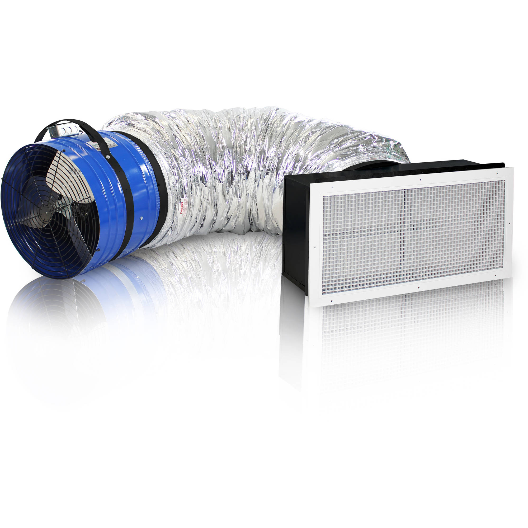 QUIETCOOL QC CL-4700 Whole House Fan,Steel,2-Speed,533W,120V