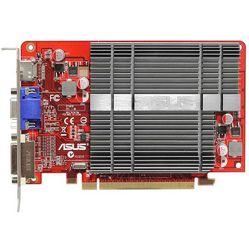 ASUS AMD Radeon HD 5450 1GB DDR3 PCI E 2.1 Graphics Card