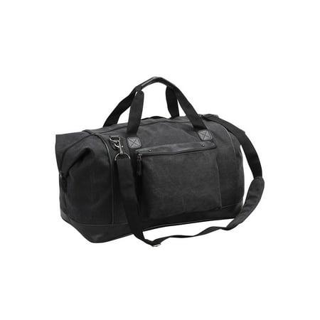 Monogram Online Steamboat Canvas Duffle Bag, Black