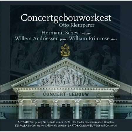 Mozart / Symphony 25 / Mahler / Lieder Eines Fahrenden / De Falla /Nights In The Gardens Of Spain / Bartok / Concerto For Viola