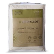 AllerEase Organic Cotton Allergy Protection Mattress Pad - Twin