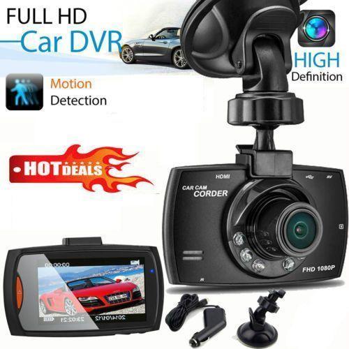 2.3inch LCD G-Sensor Night Vision HD 720P Car DVR Camera Dash Cam