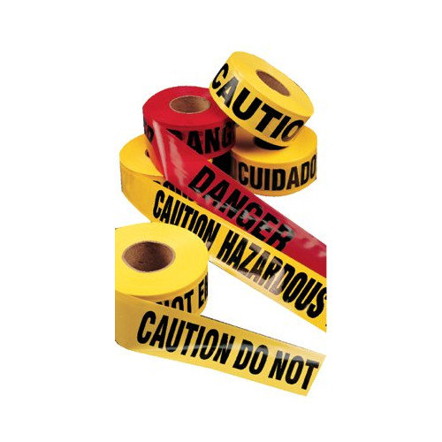 C.H. Hanson Barricade Tapes - caution safety tape hazard keep away
