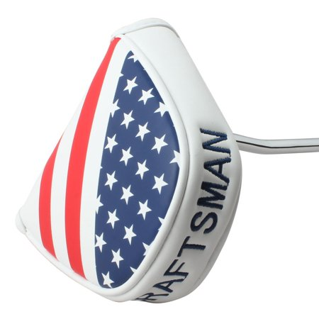 Craftsman Golf USA AMERICA MALLET Putter Cover Headcover For Scotty Cameron Odyssey