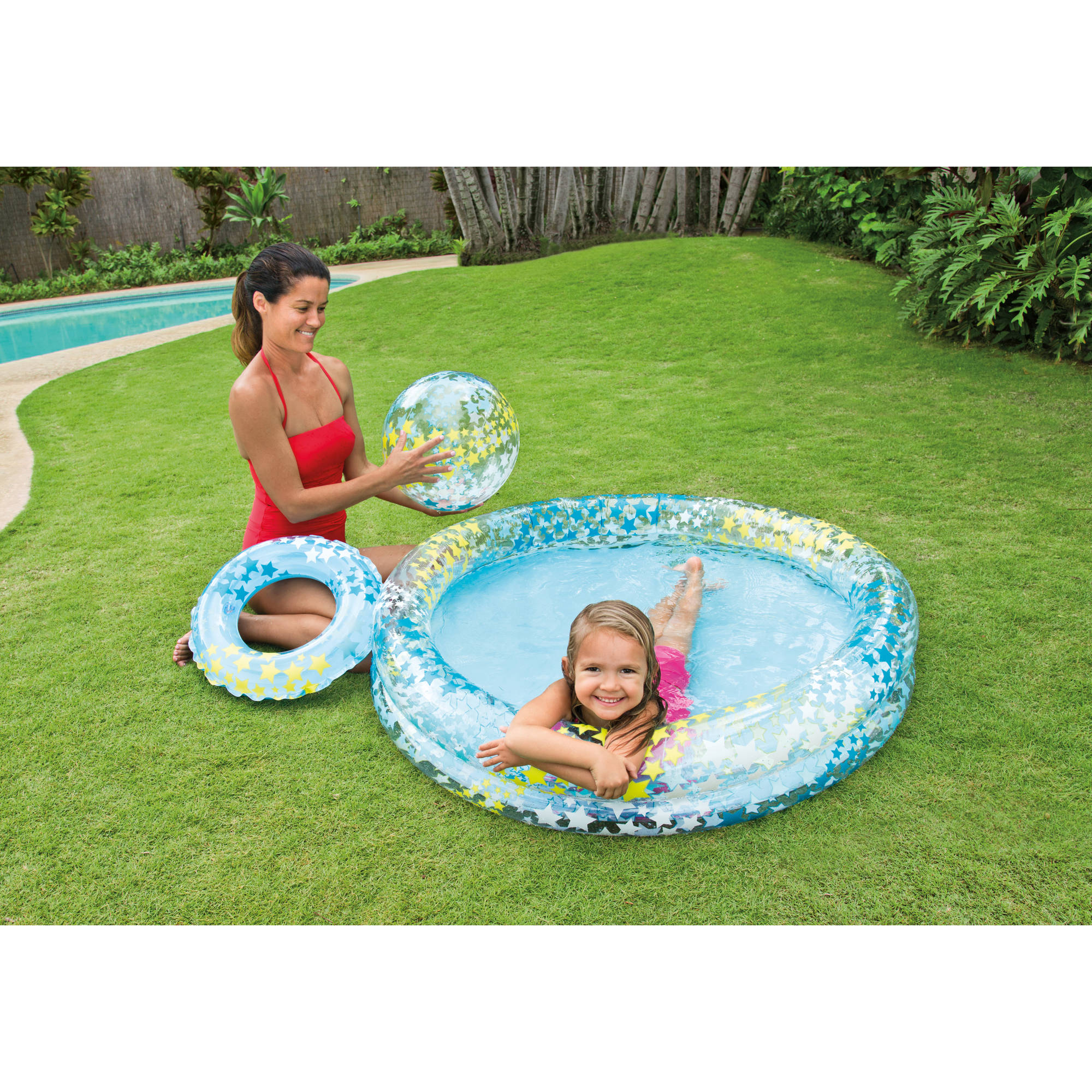 Intex Inflatable Stargaze Kiddie Pool Set