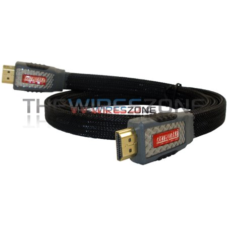 Earthquake Sounds HD-3 3' ft High Speed HDMI Cable with Ethernet & 3D Functions ()