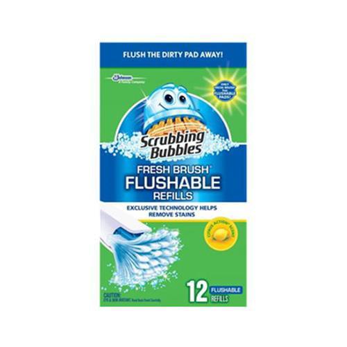 SC Johnson 71102 12-Count Citrus Fresh Flushable Pad Refill