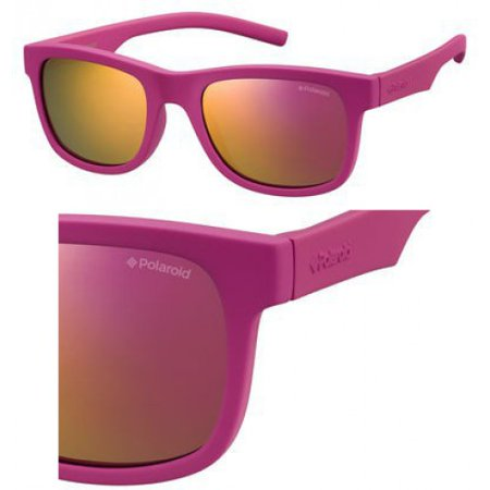 Sunglasses Polaroid Core Pld 8020  S 0Cyq Dark Pink   Ai Brown Mirror Pol Lens