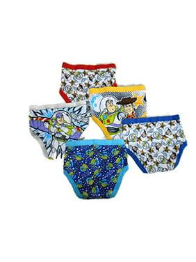 Disney Toy Story Boys Underwear, 5 Pack Briefs (Little Boys & Big Boys)