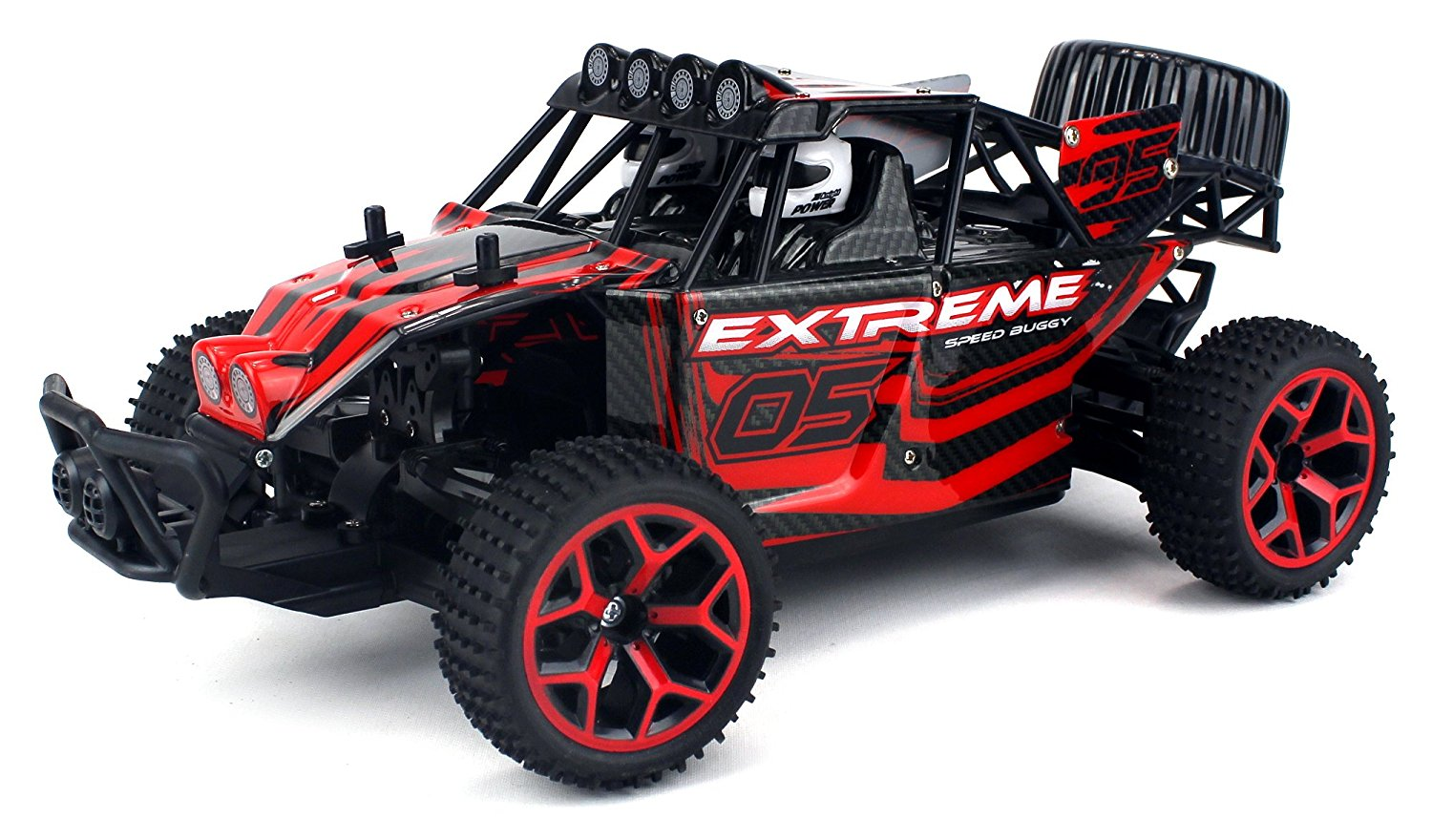 Extreme Speed Remote Control RC Truggy Truck Buggy 1:18 Scale 4 Wheel Drive 4WD... by Velocity Toys