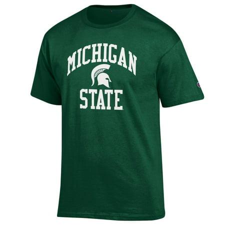 Michigan state spartans t shirt ncaa green xxl for Michigan state spartans t shirts