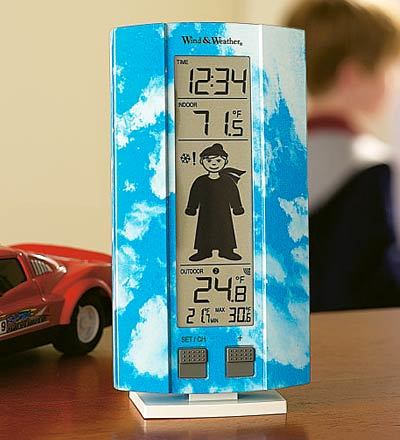My First Weather Station with Boy or Girl Motif for Kids by Plow & Hearth