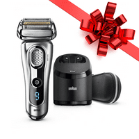 Braun Series 9 9290cc ($60 in Rebates Available) Men's Electric Foil Shaver, Wet and Dry Razor with Clean & Charge Station