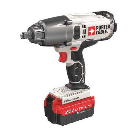 Porter-Cable PCC740LA 20V MAX 5.1 lbs. 1/2 in. Cordless Lithium-Ion Impact (0.5 Corded Impact Wrench)