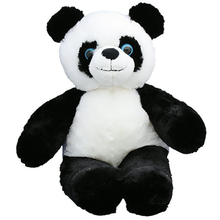 Cuddly Soft 16 inch Stuffed Panda Bear - We stuff 'em...you love 'em! Graduation Soft Bear