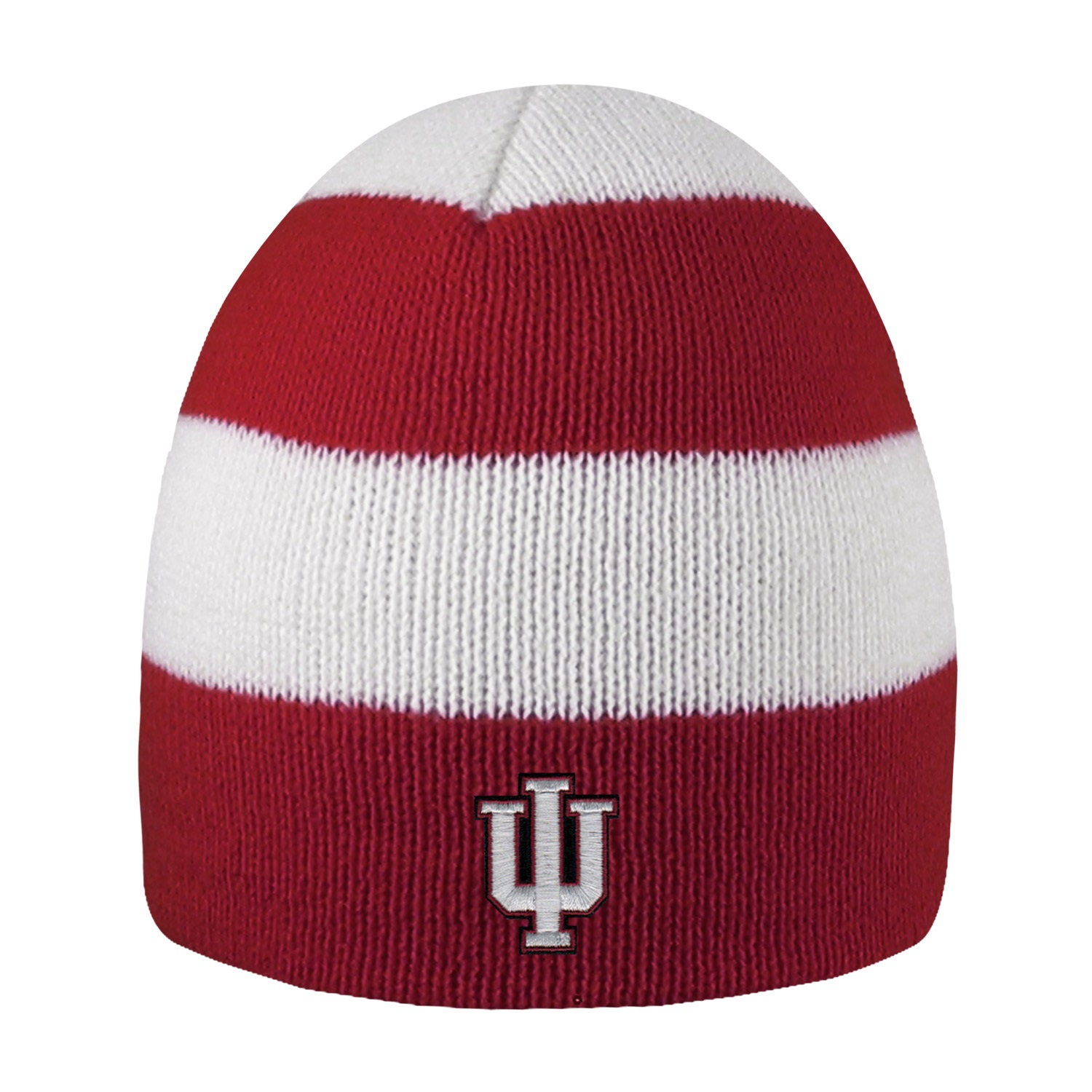 Indiana University Rugby Striped Knit Beanie
