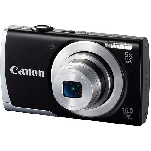 CANON 8253B001 16.0 Megapixel PowerShot(R) A2500 Digital Camera (Black)