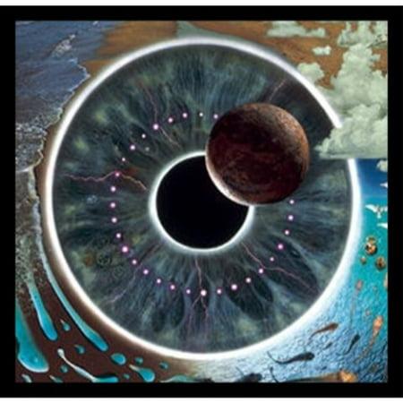 Framed Pink Floyd   Pulse Eyeball Vision 34X24 Music Art Print Poster