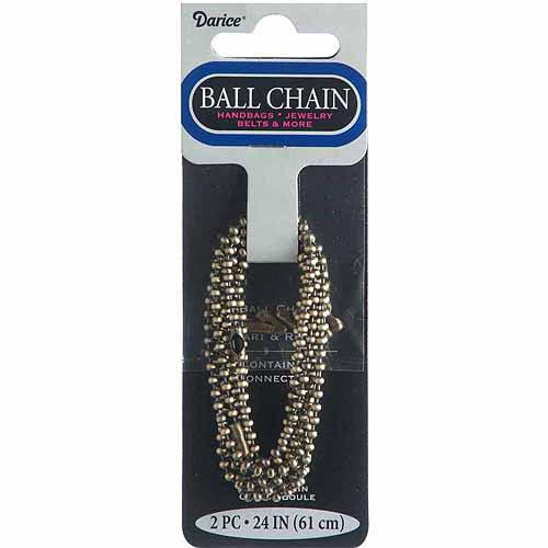 Bronze Ball Chain: 2.4mm