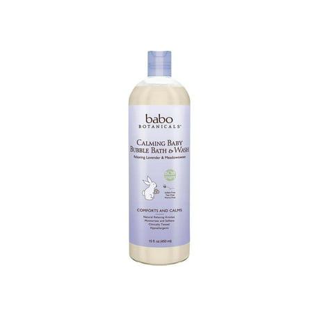 Calming Baby Bubble Bath & Wash
