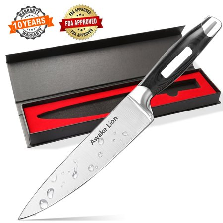 Japanese Chef Knife, 8 Professional High Carbon Stainless Steel Kitchen Knife ,Sharp Blade