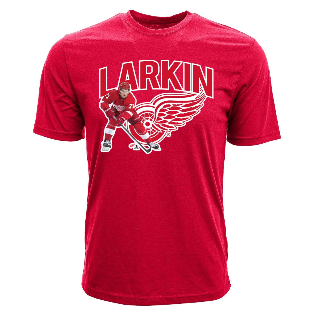 Detroit Red Wings Dylan Larkin NHL Action Pop Applique T-Shirt - Levelwear - image 2 of 2