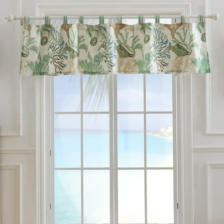 Global Trends Anchor Bay Jade Window Valance ()