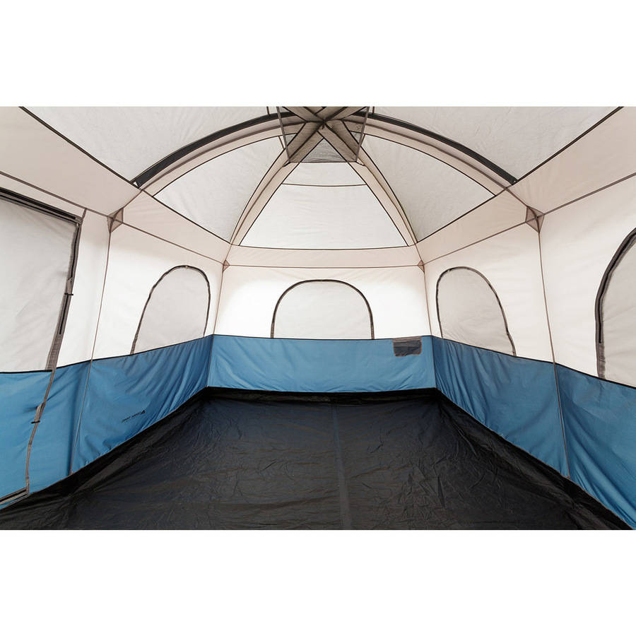 Cabin Tent 14 x 10 Family Sleeps 10 Carry Bag Outdoor C&ing Hiking Sports New  sc 1 st  eBay & Cabin Tent 14 x 10 Family Sleeps 10 Carry Bag Outdoor Camping ...