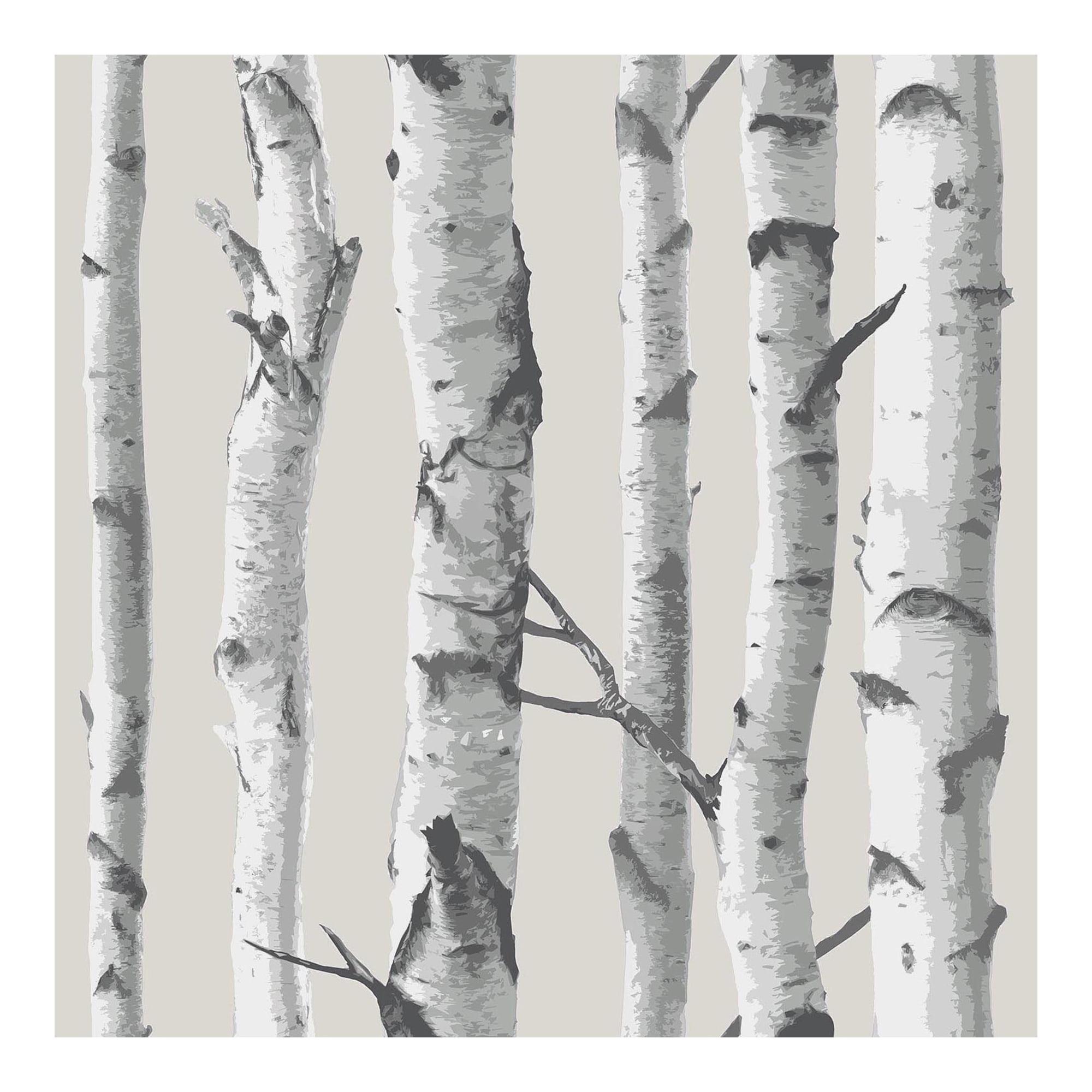 NuWallpaper Birch Tree Peel & Stick Wallpaper