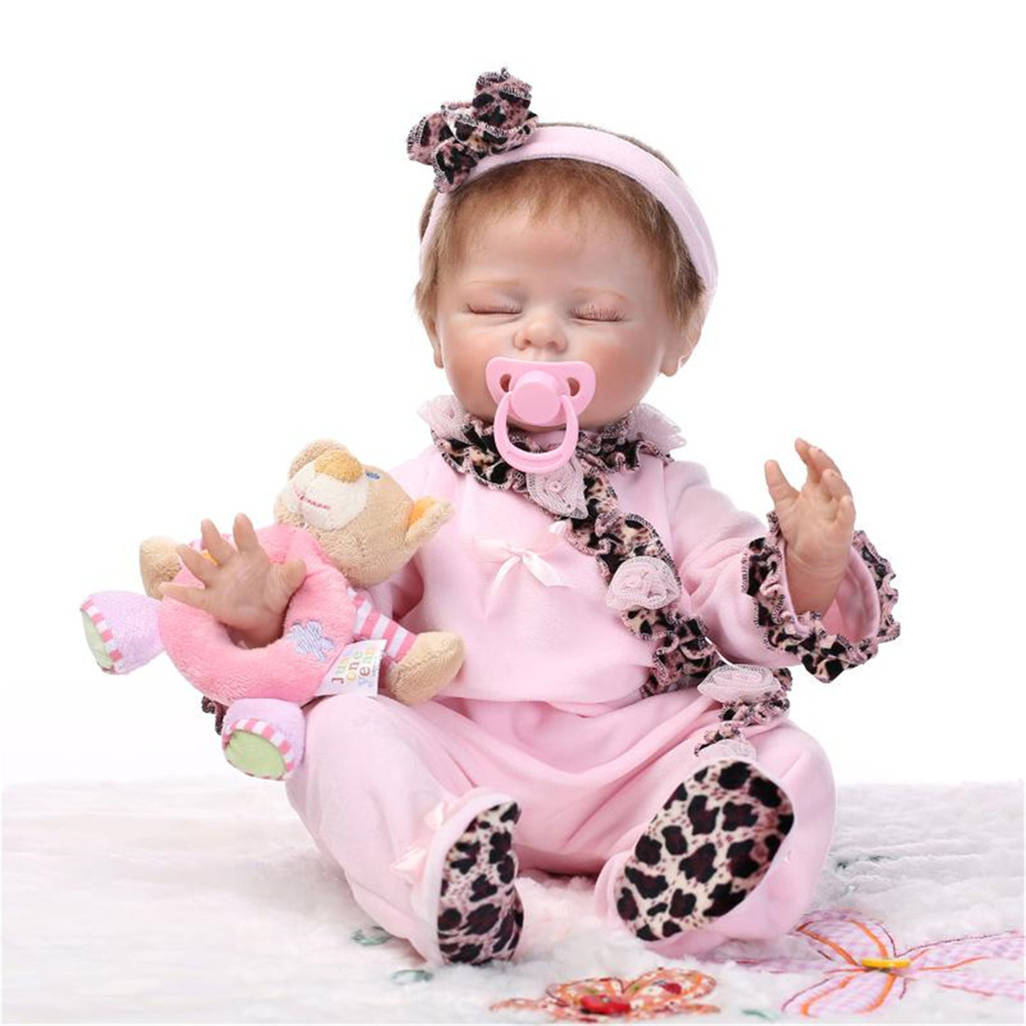 NPK Collection Reborn Baby Doll Soft Silicone vinyl 22inc...