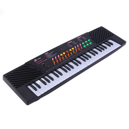 (54 Key Electric Piano Keyboard for Kids Digital Keyboard Music Piano for Adults Or Children Beginners Electronic W/Mic Organ on Sale)